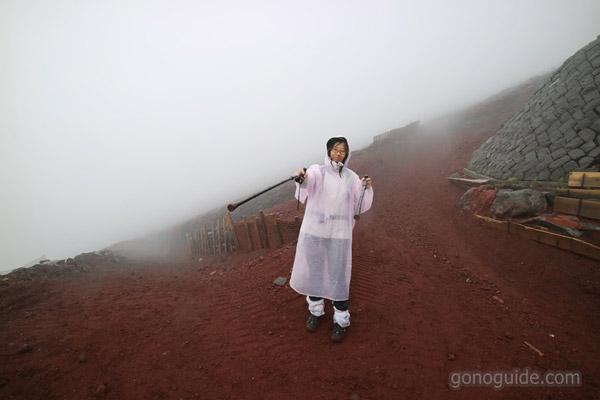 เส้นทางลงเขา ปีนฟูจิ