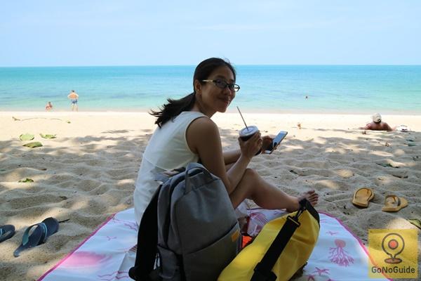 หาดละไม เที่ยวสมุย