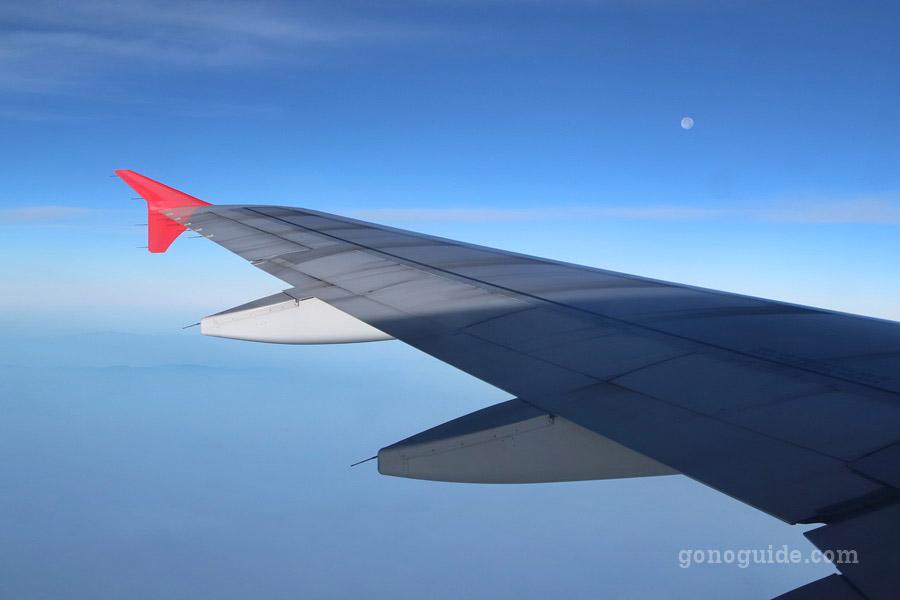 วิวบนเครื่องบิน