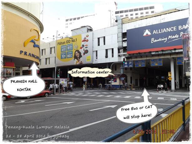 Penang-Kuala Lumpur ; Komta