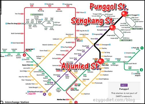 Aljunied to Punggol