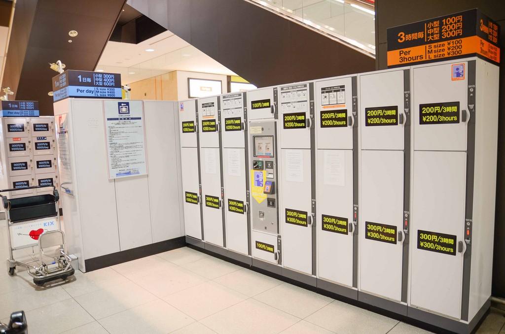 locker สนามบินคันไซ