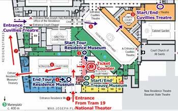 แผนเที่ยว Residence Munich