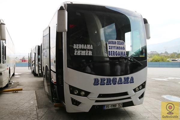รถบัสไป Bergama