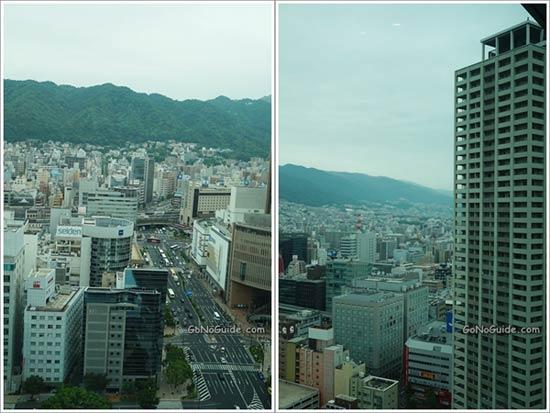 ดูวิวบนตึก Kobe City Hall
