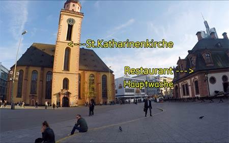 เดินเล่น Hauptwache