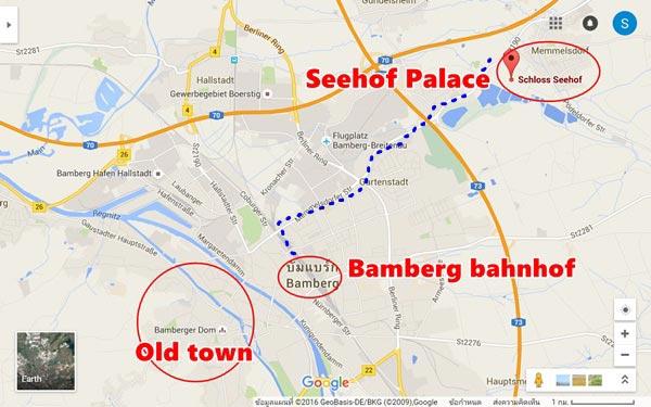 วิธีเดินทางไป Seehof Palace