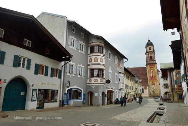 เที่ยวยุโรป SS1 D14 เที่ยว Mittenwald & Garmisch