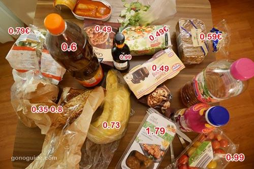 ค่าอาหาร การ์มิช