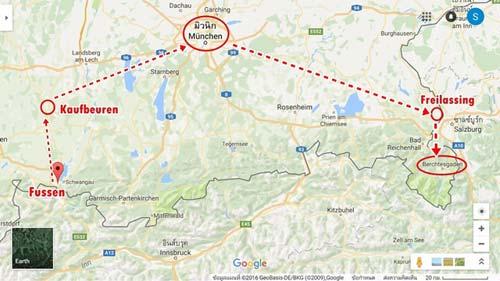 การเดินทางไป Berchtesgaden