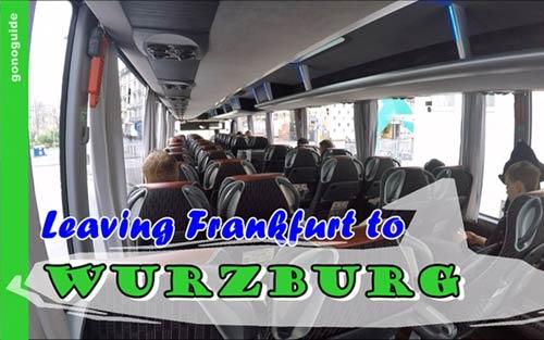 รถบัสจาก Frankfurt ไป Wurzburg