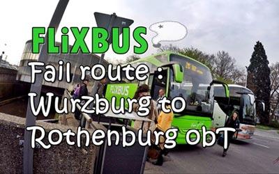 Flixbus ไป Rothenburg ยกเลิก