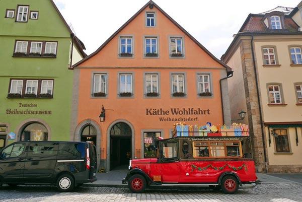 Christmas museum Rothenburg