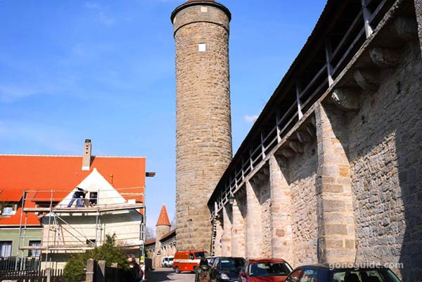 Rothenburg Town Wall