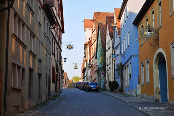 Medieval Old Town Rothenburg