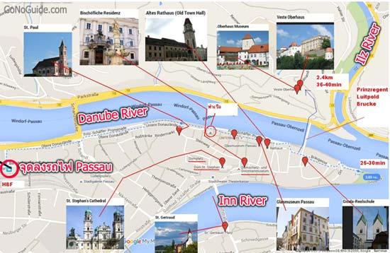 วางแผนเที่ยว Passau – Regensburg