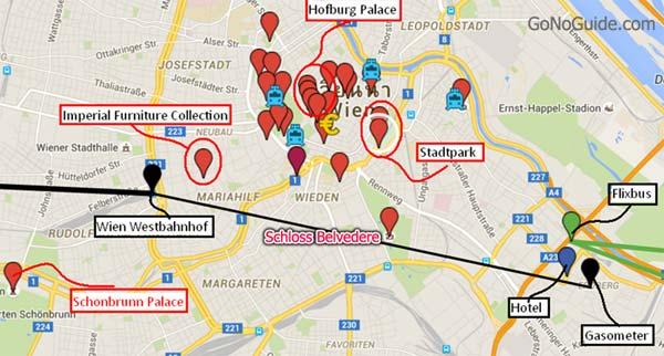 วางแผนเที่ยว Vienna Hofburg