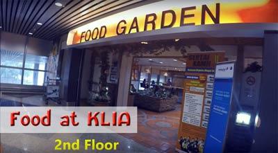 อาหารในสนามบิน KLIA