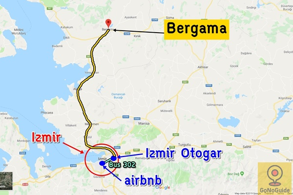 วิธีไป Bergama Acropolis