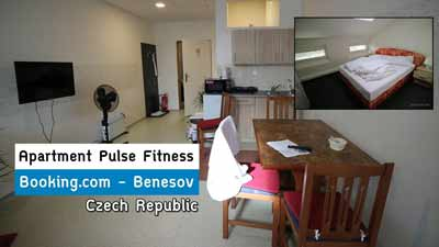 Apartment Pulse Fitness | Benešov