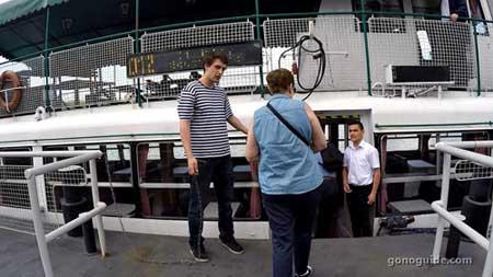 ล่องเรือที่บูดาเปสต์