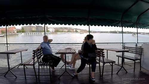 เรือที่บูดาเปสต์