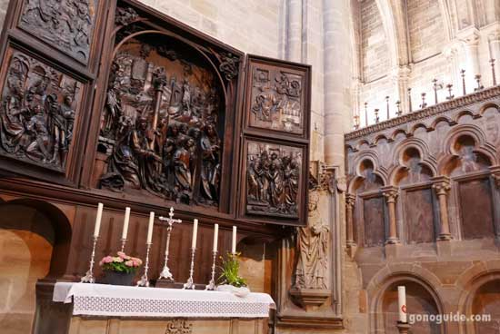 Dom Bamberg หรือ Bamberg Cathedral
