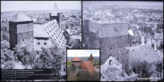 เมืองนูเรมเบิร์ก ถูกทำลายจากสงคราม