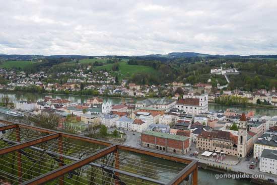 วิวเมืองเก่า Passau