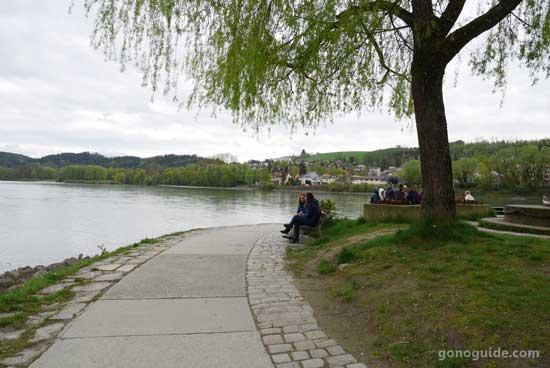 จุดตัดแม่น้ำ Inn กับ Danube