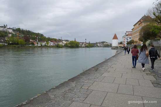 แม่น้ำ Inn เมือง Passau