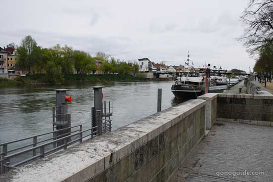 แม่น้ำดานูบ Regensburg