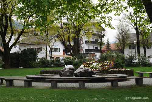 สวนใจกลางเมือง Mittenwald