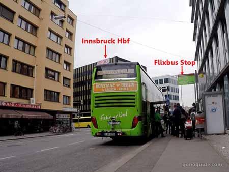 Flixbus Innsbruck