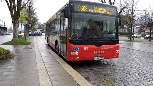 รถบัส 9608 Mittenwald - Garmisch