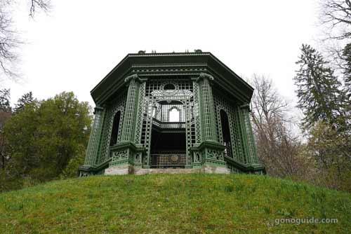 ซุ้มชมวิว Linderhof palace