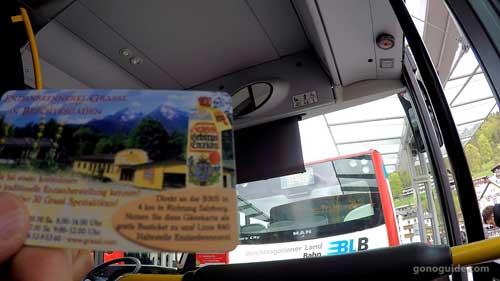 guest card Berchtesgaden