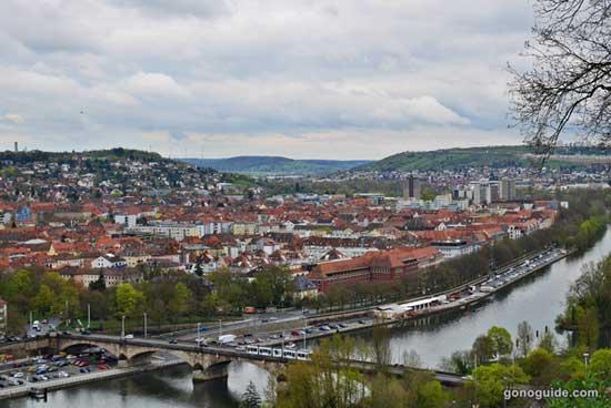 วิวเมือง wurzburg