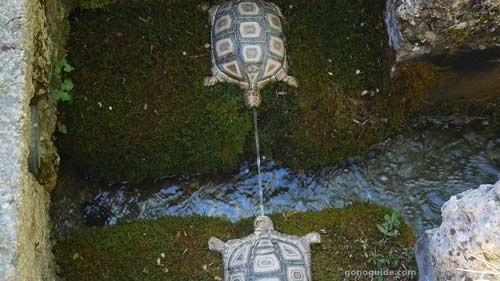 Turtle fountain - Hellbrunn