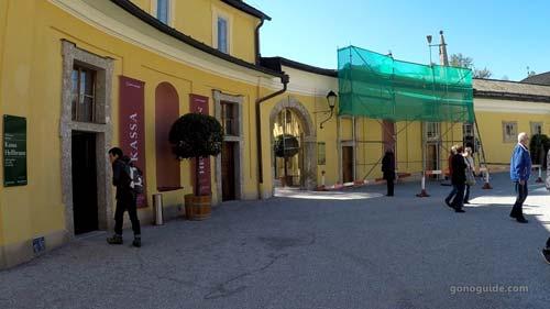 Hellbrunn Palace & Trick Fountains