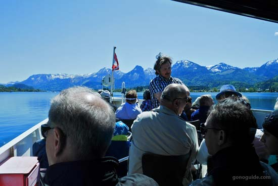 ภายในเรือ Wolfgangsee