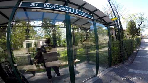 St. Wolfgang bus stop