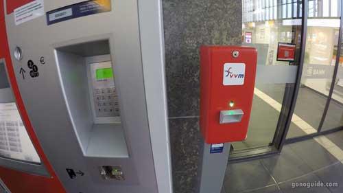 ตู้ซื้อตั๋วรถไฟเยอรมัน