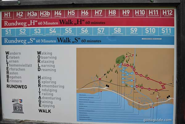 เส้นทางเดินขึ้นเขา Hallstatt