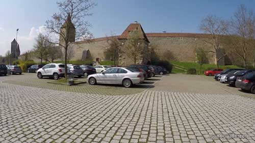 กำแพงเมือง Rothenburg o.d.T