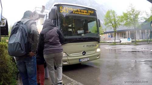 Bus 543 Hallstatt - Obertraun