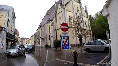 Pfarramt โบสถ์คาทอลิก ที่ Melk