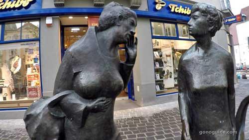 รูปปั้น ที่ St. Polten