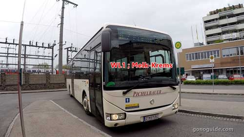 Bus WL1 ที่ Krems