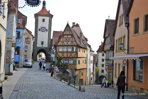 เที่ยวยุโรป SS1 D5 เที่ยว Rothenburg